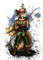 Reynard the Fox - Character design by sudro