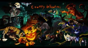 .:Creepy Halloween:. by Treachirani