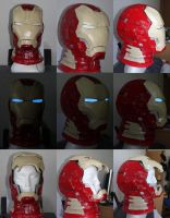 Iron Man MK 42  WIP #2 by SanjiroCosplay