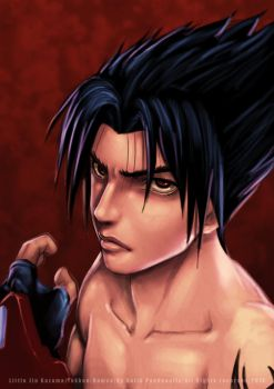 Young Jin Kazama by pandaautis