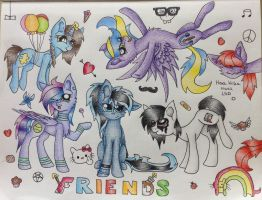 Friends by AwesomeDashie