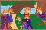 Rose and Marins family: Redwall fanart by Kamixazia