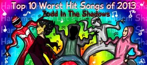 Top Ten Worst Hit Songs of 2013 by TheButterfly