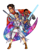 The Force Awakens - Legacy by lorna-ka