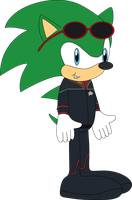Sonic Trek: Captain Scourge the Hedgehog (2373) by MasterAccount