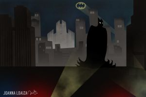 The Dark Knight by retro-vertigo