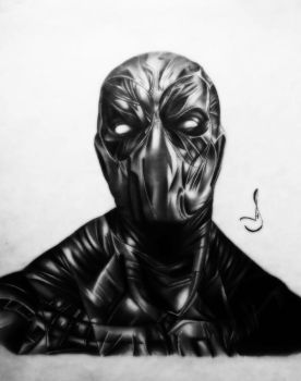Drawing deadpool by jhonatan23