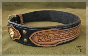 Wolfdog collar by Fantasy-Craft