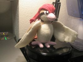 Pidgeotto Plush by Vulpes-Canis