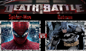 Spider-Man vs Batman by SonicPal