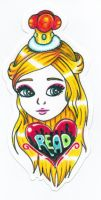 Princess Bookmark by Oh-My-Stars