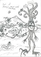 My WOY OC part of Mossy's home planet by Kittychan2005