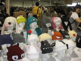 Anime North 2007 - Hats by corlee1289