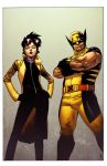 Wolverine and Jubilee by spidermanfan2099