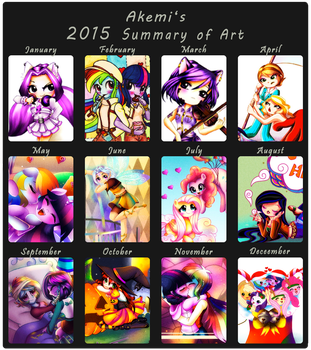 2015 Summary of Art by ShikimaAkemi