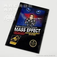 Mass Effect - 8-Bit Box Art by arcade-art
