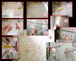 How to make Thranduil Crown by seawaterwitch