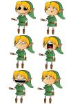 Faces of Link by EikoQ