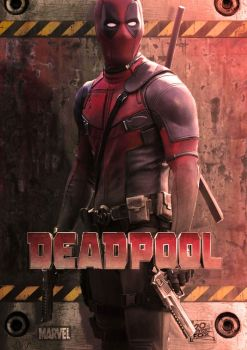 Deadpool poster by Momopopo1