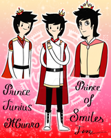 Prince Junius - Prince and King of Smiles by LunarStarwhisper