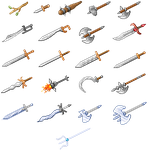 DS2 Weapons by Juanalene