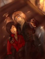 RE6 : Not if I can help it Coloured by ForinthryHawk