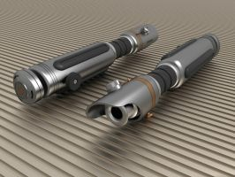3D Lightsaber v.14 by Ariergarda