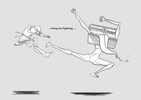 Kung Fu Fighting by sanaez