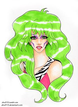 Pizzazz of The Misfits in Jem and the Holograms by diru915