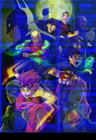 Young Justice mashup by missmuchi