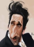 Adrien Brody by Parpa