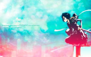 Wallpaper Rukia Tomo 54 by Erian-7
