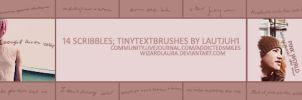 scribbles: tinytextbrushes by wizardlaura