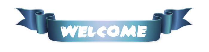 Welcome Banner png by YuiiNao