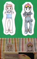 Flip side Jack Bookmark by mismess-pixels