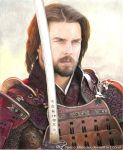 Tom Cruise Drawing -The Last Samurai by Pencil-Bender