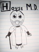 House MD Penguin by Dysthymia83