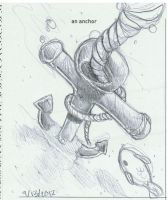 642 Things To Draw : Anchor by kina