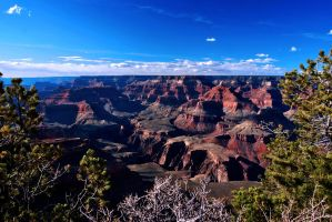 Grand Canyon View by fosspathei