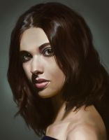 Portrait study 05 by iZonbi