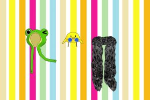 Hat + scarf pack - Download by YamiSweet