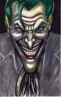 Joker Sketch 9-9-2013 by myconius