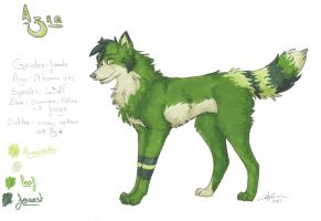 Azra Reference Sheet by lfraysse