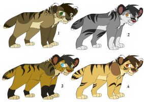 Saber adoptable:Batch 1 ALL SOLD by Rain-Strive