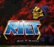 Riet and Skeletor by RietOne
