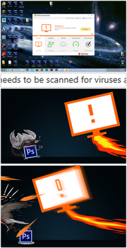 Scan for Viruses by grievousfan