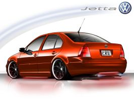 VW Jetta tuned and tooned by yamell