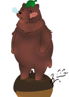 Sleepy the Bear by my-name-is-totoro
