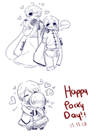 Happy Pocky Day!! by Kiwii-tan