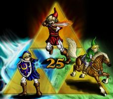Triforce of Link by Kajiblade